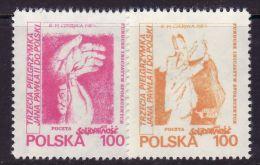 POLAND SOLIDARNOSC - 1987 POCZTA SOLIDARNOSC  - THIRD POPE PILGRIMAGE  MNH - Solidarnosc-Vignetten