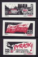 POLAND SOLIDARNOSC - 1988 POCZTA SOLIDARNOSC SZCZECIN  MNH - Vignette Solidarnosc