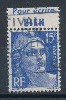 Marianne De Gandon 15f Bleu(o)  Pub (Bic)  Pour écrire Bien - Werbung