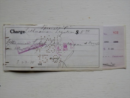 """Sale! Old 1925 Year Bank Cheque Check From Lithuania Lithuanian Legation """"special P""""  2 Scans Bill Of Exchange USA - Lituanie"""