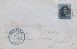 nr 7A, op brief van Bruxelles naar Gand (X12024)