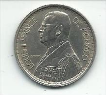 20 FRS  1947 Louis II  Monaco - Monaco