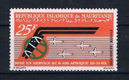 Mauretanien 1963 Flugzeuge Mi.Nr. 220 ** - Mauritanië (1960-...)
