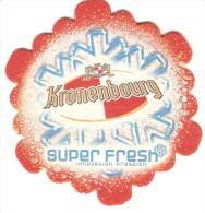SOUS BOCK KRONENBOURG SUPER FRESH INNOVATION PRESSION LOT DE 2 - Sous-bocks