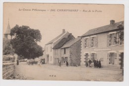 Champagnat  Rue De La Poste - Otros Municipios