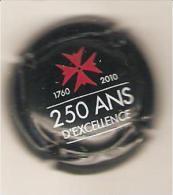 CAPSULE MUSELET CHAMPAGNE LANSON 250 ANS D'EXCELLENCE 1760 2010 - Lanson