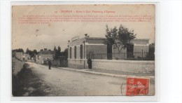 FISMES ( 51 ), Usine à Gaz , Faubourg D'Epernay - Fismes