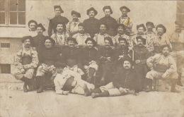 Carte Photo Militaire Chasseur Alpin Granier Savoie 1911 - War, Military