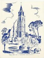 """Repas / Menu Offert Par """" L'Agriculteur  D'Eure Et Loir """"/ Jean Villette / Vers 1950        MENU116 - Menus"""