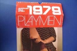 CX020- CALENDARIO PLAYMEN 1979/ILONA STALLER/NADIA CASSINI/ELEONORA GIORGI/GLORIA GUIDA/SYDNE ROME - Calendari
