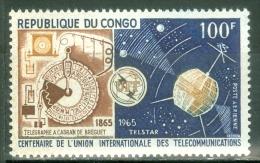 PEOPLE'S REPUBLIC OF CONGO1965 ITU MNH** - Lot. 3049 - Congo - Brazzaville