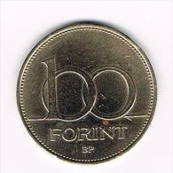 ¨ HONGARIJE  100 FORINT  1995 - Hungary