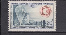 TAAF-         N° 21- Belle Gomme D´origine....... COTE 112 Euros - Unused Stamps