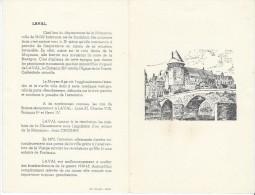 Diner/ Banque Française D'Agriculture Et Du Crédit Mutuel/ Laval/ 1959        MENU120 - Menus