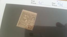 LOT 225490 TIMBRE DE MONACO NEUF* N�45 VALEUR 26 EUROS