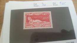 LOT 225526 TIMBRE DE MONACO NEUF* N�30 VALEUR 15 EUROS
