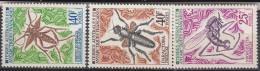 TAAF-         N°40 à 42 - Belle Gomme D´origine....... COTE :38, Euros - Unused Stamps