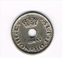¨ NOORWEGEN  10  ORE 1947 - Norvège