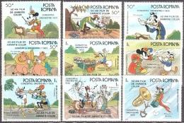 Walt Disney MiNr. 4243 - 4251 Rumänien  MNH / ** / POSTFRISCH - Disney