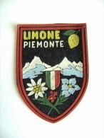 LIMONE PIEMONTE    VECCHIA  PATCH - TOPPA   TELA  PANNO TESSUTO GOMMA - Ecussons Tissu