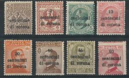 ITALIE ITALIA  DALMATIE - TRENTINO DALMAZIA  NEUFS *  TB - Occupation 1ère Guerre Mondiale