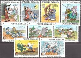 Walt Disney MiNr. 4209 - 4217 Rumänien  MNH / ** / POSTFRISCH - Disney