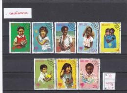 Belize 1980 - Yt 472/79 Used  Anno Internazionale Del Fanciullo (1^) - Belize (1973-...)