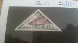 LOT 225539 TIMBRE DE MONACO NEUF* N�55 VALEUR 15,5 EUROS