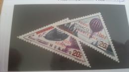LOT 225541 TIMBRE DE MONACO NEUF* N�61/62 VALEUR 15,3 EUROS