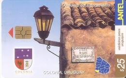 Nº 237 TARJETA DE URUGUAY DE COLONIA - Uruguay