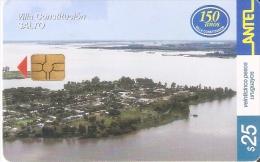 Nº 240 TARJETA DE URUGUAY DE VILLA CONSTITUCION EN SALTO - Uruguay