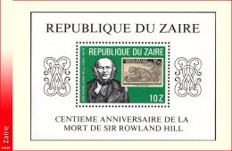 Zaire BL 038**  Rowland Hill MNH - 1980-89: Neufs