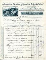 MANUFACTURE PARISIENNE D'APPAREILS DE LEVAGE & CHAINES POUR MINES & TRAVEAUX PUBLICS.L.PÂRIS & Cie 19 RUE MONTERA.PARIS. - Unclassified