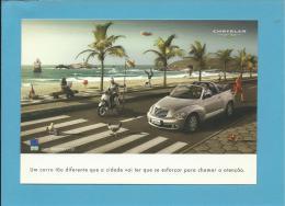 CHRYSLER - PT CRUISER - PUBLICIDADE - Advertising - 2 SCANS - Publicidad