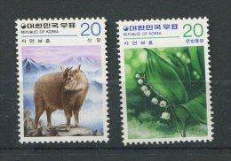 Corée Du Sud ** N° 1032 / 1033 - Nature - Muguet- Antilop - Corée Du Sud