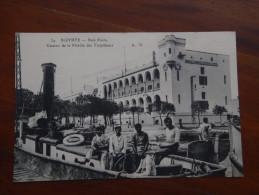 TUNISIE BIZERTE - Baie Ponty - Caserne De La Flottille Des Torpilleurs - MILITARIA (vue Différente) - Tunisie