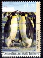 AUSTRALIAN ANTARCTIC TERRITORY 1992 Antarctic Wildlife - $1.50 - King Penguin  FU - Australian Antarctic Territory (AAT)