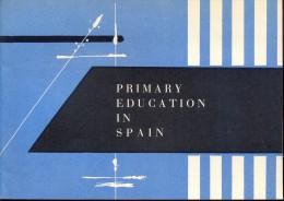 Brochure Guide Gids - Primary Education In Spain - School - Spanje - Culture