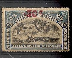 CONGO Nr 99 Cote 1.00€ T 14 Mint * MH - 1894-1923 Mols: Oblitérés