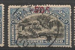 CONGO Nr 99 Cote 0.35€ T 14 Obl Gest Used - 1894-1923 Mols: Oblitérés