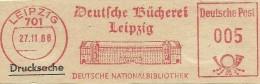 Nice Cut Meter Deutsche Bucherei Leipzig, Deutsche Nationalbibliothek, Leipzig 27-11-1966 Building - [7] West-Duitsland