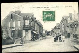 Cpa Du 14  La Rivière Saint Sauveur Rue De Pont Audemer  - Côté Ouest      AO26 - France