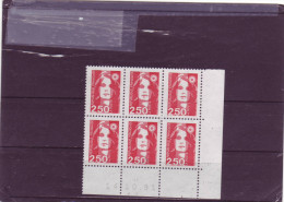 N° 2715 - 2,50F MARIANNE DE BRIAT - 1° Tirage Du 22.08 Au 24.10.91 - 14.10.1991 - - 1990-1999