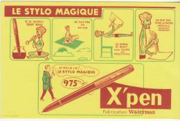 X'pen, Le Stylo Magique - Buvards, Protège-cahiers Illustrés