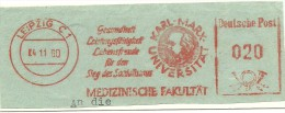 Nice Cut Meter Medizinische Fakultat  Karl Mark Universitat Gesundheid, Leipzig 14-11-1960 - Geneeskunde