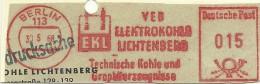 Nice Cut Meter VEB Elektrokohle Lichtenberg, Berlin 30-5-1968 - Wetenschappen
