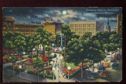 CPA Etats Unis JACKSONVILLE Hemming Park By Moonlight - Jacksonville