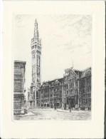 Crédit Mutuel/Sessions Des Cadres / Lille/ 1957       MENU130 - Menus