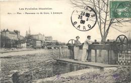 Pyrénées-Atlantiques : Pau, Panorama Vu Du Gave, A Jurançon - Pau