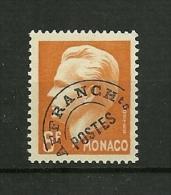 MONACO 1948/49  Préoblitéré   N°10    NEUF - Préoblitérés
